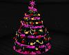 CHRISTMAS TREE - pink