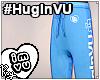 #HugInVU Joggers - Blue