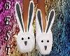 Bunny Slippers Gray
