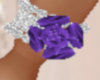 Diamond BL Purple Flwr L