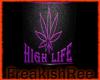 high life dj room -purp-