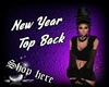 New Year Top Back