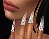 ( nails glitter )