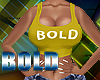 Bold Yellow Tank