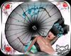 ! GeishaUmbrella Blue 6p
