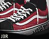 ® Skate Red Black