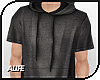 A| Long Hooded Tee v.1