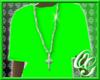 -=OG=- Green T wit chain