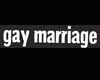 Gay Marriage Sticker