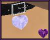 Diamond Heart Collar