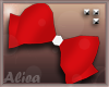 Kids Red Bow