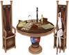 Castle Map Table