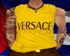 Mustard Versace Tank