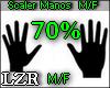 Scaler Manos 70% M / F