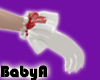 ! BA Santa White Gloves