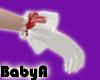 ! BA Santa White Gloves