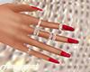 Red Nails Valentine