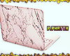 Marble Laptop Rose Gold