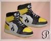 Devil Dolls Shoes Yellow