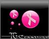 {TG} Pink Ribbon Sticker