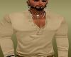 Tan polo shirt