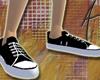 70's Black Sneakers F