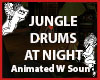 JUNGLE DRUMS AT NIGHT