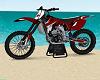 Crimson Star Dirt  Bike
