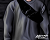 Grey Sweater + Bag