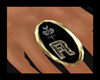GOLD roedark  ring