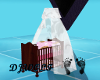 [DJ] Pink Bear Crib