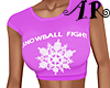 Snowflake Crop Top V8
