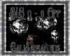 BLS White & Black Skull