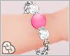 LL* Pink Jewel Bracelets