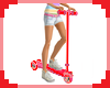 [S] Red Toy Scooter