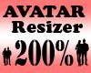 Avatar Scaler 200% / F