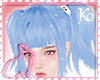 Ko ll School Hair Blue