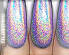 x holographic . nails