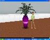 {ys} Purple Vase/Fern