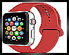 RED APPLE WATCH