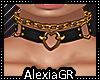 [A] Heart  Chain Gold