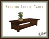 *C* Mission Coffee Table