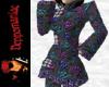 Aysha Pantsuit Blu/Prpl