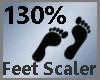 Feet Scaler 130% M A