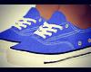 Female Blue Converse