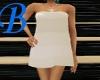[B] White Bath Towel
