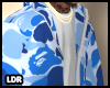 Blue Bape Jacket DRV.