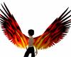 Flame wings