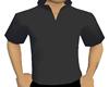 CJ69 Grey Mock Collar{M}