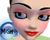 Red & pink Make-up skin
